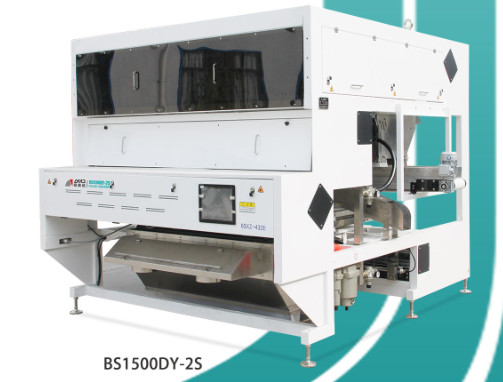 CCD Plastic Color Sorter Machine , High Purity Converyor Sorting Machine